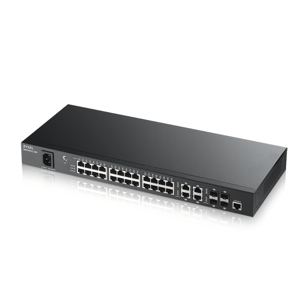 MES3500-24S, 24-port FE Fiber L2 Switch with Four GbE Combo Ports