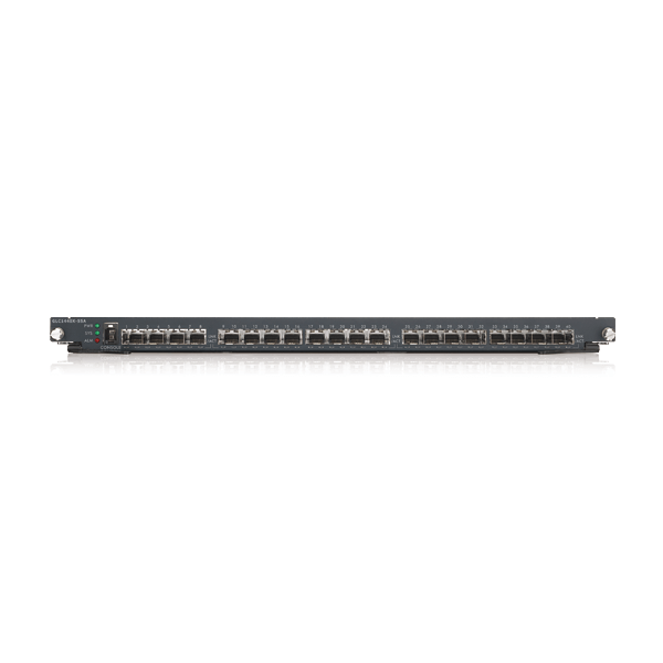 GLC1440X-55A, 24-port FE Fiber L2 Switch with Four GbE Combo Ports