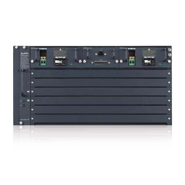 IES5206 Series, 5U 6-slot Temperature-Hardened Chassis MSAN