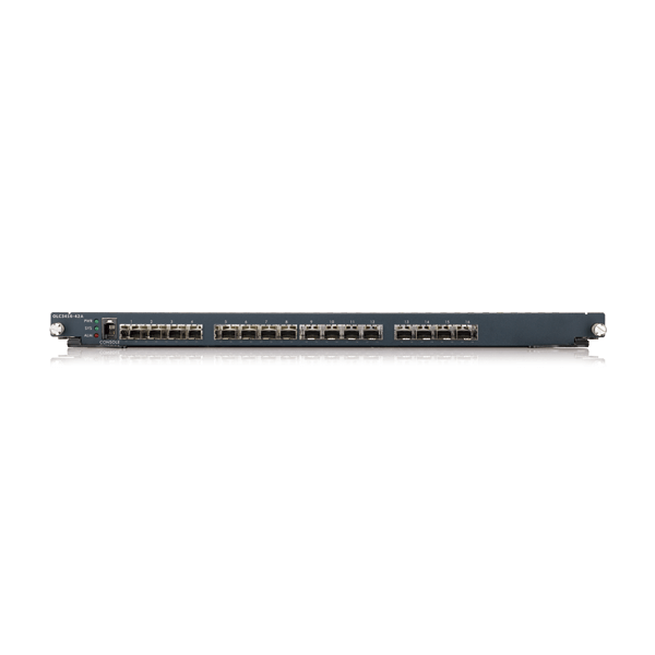OLC3416-42A, 24-port FE Fiber L2 Switch with Four GbE Combo Ports